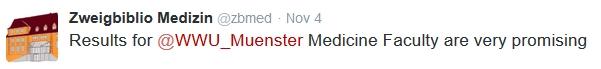 tweet Muenster