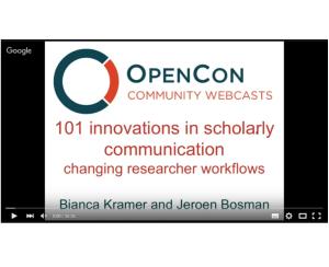 OpenCon webcast